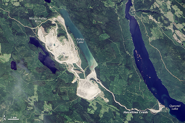 Health Report Finds On-going Damage To First Nations From Mount Polley Spill